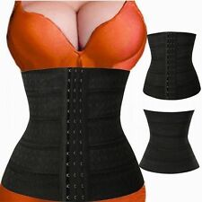 Black Waist Slimming Shapewear Body Shaper Underbust Corset Girdle Waist Cincher