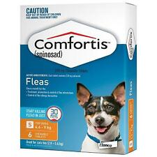 Comfortis Flea Tablets for Dogs 4.6-9kg (Orange)