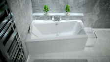 Offset Corner Bath *INFINITY* SPACE SAVER 1500 x 900mm with Front Panel and Legs