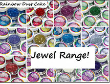RAINBOW DUST Cake Glitter Cake Cupcake Decorating Baking Sparkle JEWEL RANGE