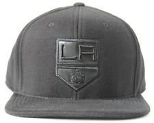 Los Angeles Kings Adult Mitchell & Ness Blacked out LA High Crown Fitted Hat