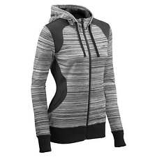Kathmandu Acota Womens Hooded Zip Up Fleece Hoodie Top Lightweight Jacket