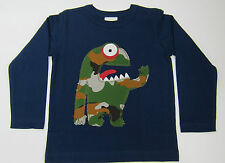 MINI BODEN LONG SLEEVE COTTON TOPS MONSTER-RACOON -FOX 5 DESIGNS BNWOT