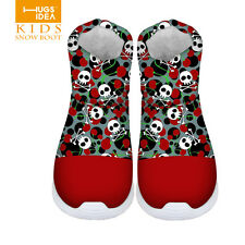 Skull Baby Shoes Toddler Boys Girls boots Winter Children kids Warm boots Snow