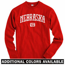 Nebraska 402 Long Sleeve T-shirt LS - Omaha Cornhuskers Bluejays - Men / Youth