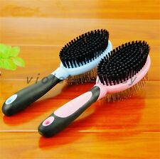 Quality Pet Dog Cat Grooming Brush Anti-static Smooth Exfoliate Comb Fur New