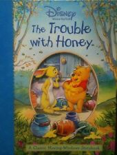 Disney Winnie The Pooh: The Trouble With Honey (A Classic Moving-Windows Book)