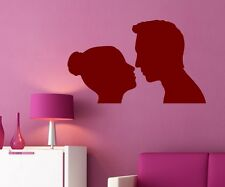 Wall Decal love couple man woman love Tattoo Sticker Decal Wall Decal 1A080