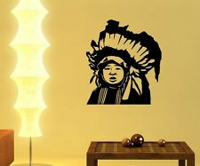 Wall Decal Indian Child Boy Western India Stickers Wall Stickers 5A027