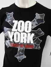 ZOO YORK Mens Latest Premium T-shirt Top Tee Size S M L XL XXL hurley black