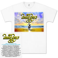 BEACH BOYS 50TH ANNIVERSARY Tour T-Shirt Men's White M-2XL