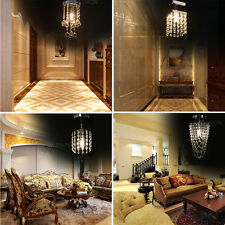 Modern LED Crystal Ceiling Light Pendant Lamp Fixture Lighting Chandelier Xmas
