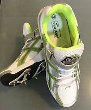 Pro Ase Full Steel Spikes (7 Front + 4 Back) Cricket Shoes + AU Stock +Free Ship