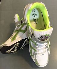 Pro Ase Full Steel Spikes (6 Front + 4 Back) Cricket Shoes + AU Stock +Free Ship