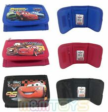 Disney Cars Lightning McQueen Mater Kids Tri-Fold Wallet  Coin Purse Bag (1pc)
