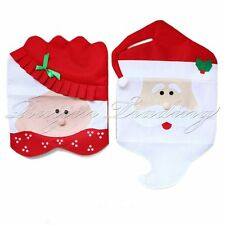Mr&Mrs Santa Claus Christmas Dining Room Chair Cover Home Party Xmas Gift Decor
