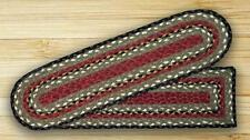 BRAIDED JUTE STAIR TREAD SETS. OVAL OR RECTANGLE. CHOOSE YOUR QUANTITY & SHAPE