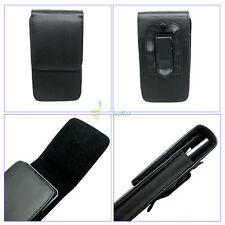 Compact Flip Magnet Vertical Leather Belt Clip Loop Holster Case Pouch Cover S2