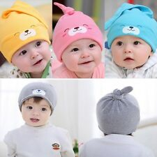 Cool Soft Unisex New Born Baby Boy Girl Beret Cotton Beanie Hat Cap Toddler New