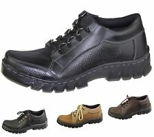 Mens Lace Up Shoes Casual Comfort Deck Comfort Walking Driving Winter Boots Size
