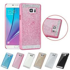 Glitter Bling Crystal Rhinestone Hard Skin Case Cover for Samsung Galaxy NOTE 5