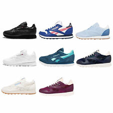 Reebok CL LTHR Leather Womens Retro Running Shoes Sneakers Trainers Pick 1