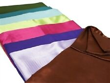 "100 Pack Square Satin 20""x20"" Napkin Wedding Catering Party - 15+ Colors!"