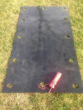 Tow-all plastic sheets utility sled