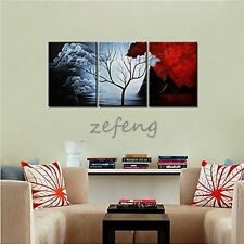 100% Hand-painted the Cloud Tree Wall Decor Oil paintings Decor Landscape