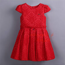 Toddler Girl Princess Dress Baby Wedding Party Formal Dress Holiday Xmas Costume