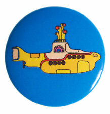 The Beatles Yellow Submarine Icon 25mm Button Badge New & Official Band Merch