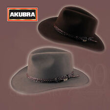 Aussie Icon AKUBRA Hats Premium Hat Collection LAWSON Heritage Fawn / Loden