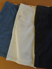 MEN'S URBAN PIPELINE COTTON SHORTS~FLAT-FRONT/CLASSIC LENGTH-HITS AT KNEE