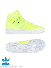 ADIDAS Rivalry HI Top Sneakers trainers Neon Sz. 39,5 - 48
