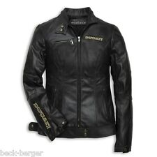 DUCATI MONSTER 20th Anniversary Ladies Leather Jacket LADY Leather Jacket NEW