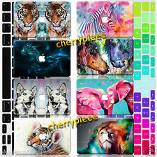 Animal Zoo Painted Hard Case+FREE Keyboard Cover For Macbook Pro 13 15 Air 11 12