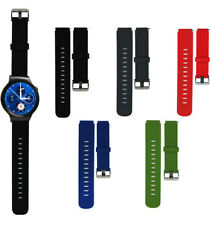 Sports Silicone Watch Band Strap Steel Buckle For Huawei Smart Watch 20mm Width