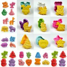 Fondant Cake Sugarcraft Decorating Cookie Pastry Cutter Plunger Mould Mold Tools
