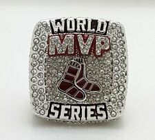 "2013 Boston Red Sox World Series Championship Ring MVP ""ORTIZ"" size 9-14 Solid"