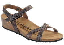 Papillio by Birkenstock Leather ALYSSA $149.95rrp Leopard Antique Narrow BNIB