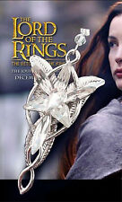 THE LORD OF THE RINGS ARWEN EVENSTAR NECKLACE ELVEN LEAF BROOCH HOBBIT COSPLAY