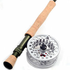 5/6/8 WT Fly Rod And Reel Combo Medium-fast Fly Fishing Rod & Aluminum Fly Reel