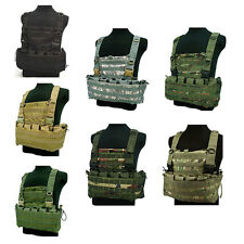 TACTICAL BulletProof BB VEST Combat Assault Airsoft Army Molle Plate Carrier UK