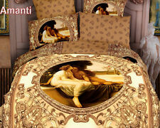 Queen/King Size Comforter Bedding Set Duvet Cover/Sheets Amanti Latin for Love