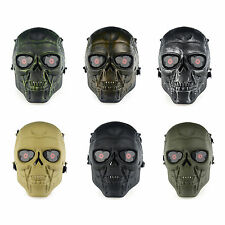Gear Full Face Skull Mask Airsoft Paintball Protection Parties Halloween