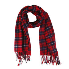 Women Winter Warm Soft Cashmere Scarf Plaid Knit Long Scarf Wrap Shawl Pashmina
