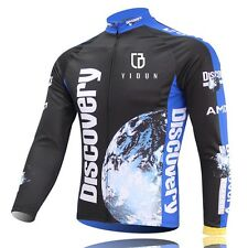 Discovery Channel Team Cycling Jerseys Long Sleeve Mountain Bike Bicycle Jersey