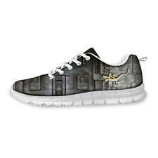 Gray Cool Boy Mens Trainer casual flat shoes Running Sport Smart shoes Sneakers