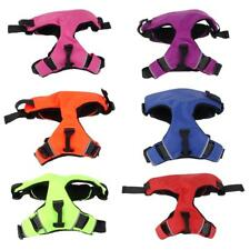 Medium Large Dog Pet Padded Walking Harness Nylon Front Back Pull All color Size