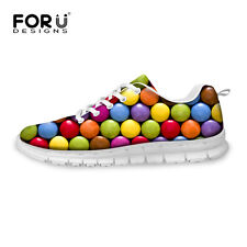 Colorful Candy Lady Women Sport Sneakers Casual Absorbting Mesh Running Shoes